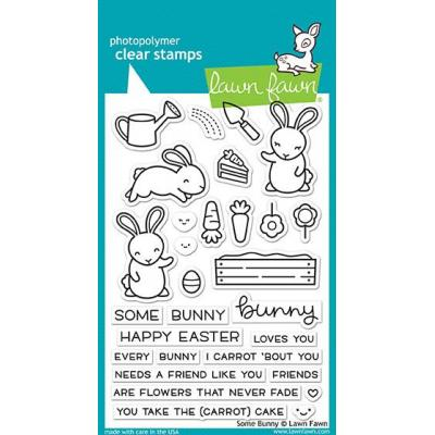 Lawn Fawn Clear Stamps Some Bunny