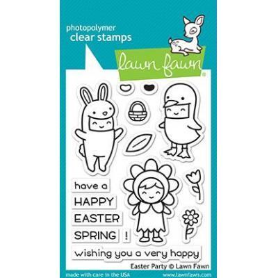 Lawn Fawn Clear Stamps Easter Party