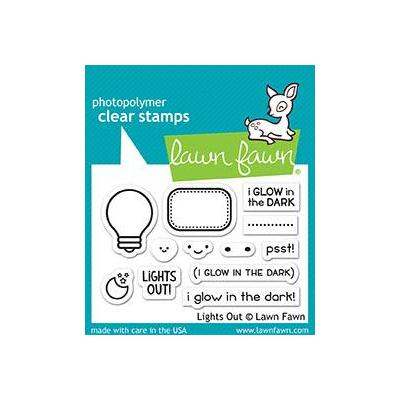 Lawn Fawn Clear Stamps Lights Out