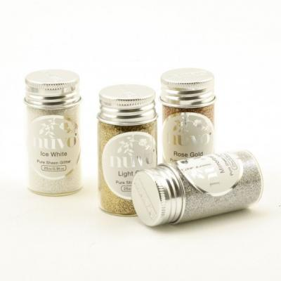 Nuvo - Pure Sheen 4er-Pack - Golden Years Glitter