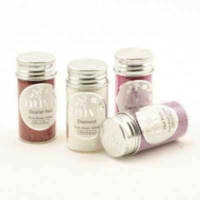 Nuvo - Pure Sheen 4er-Pack - Cross My Heart Glitter