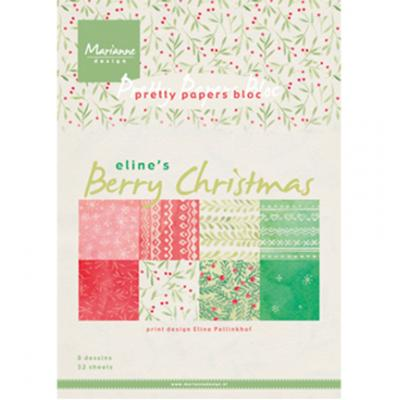 Pretty Papers Bloc: Berry Christmas