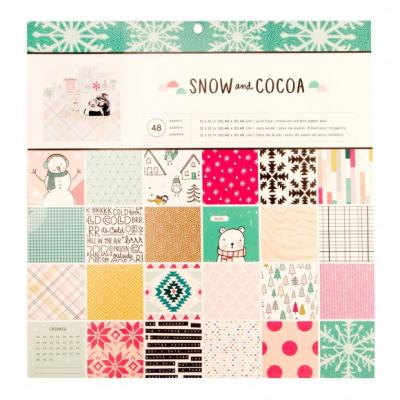 Crate Paper Snow and Cocoa