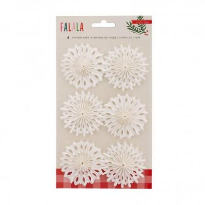 Crate Paper Falala Snowflake Delights 6Stück
