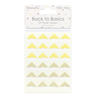 Back to Basics Baby Steps Photo Corners