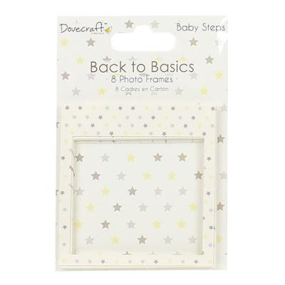 Back to Basics Baby Steps Photo Frames