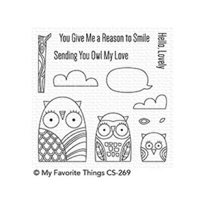 My Favorite Things Clear Stamp Owl My Love