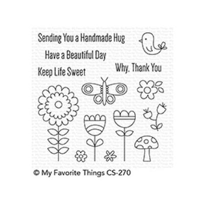 My Favorite Things Clear Stamp Beautiful Day