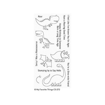 My Favorite Things Clear Stamp Delightful Dinosaurs