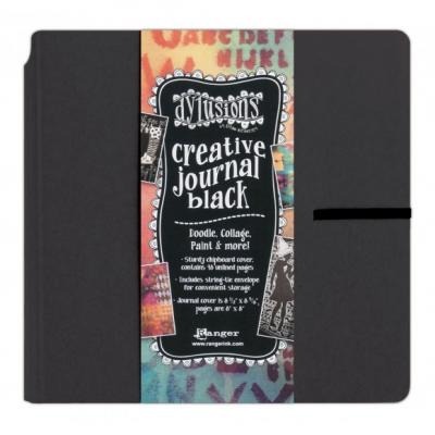 Dyan Reaveley's Dylusions Creative Journal - Black Square