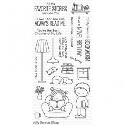 My Favorite Things Clear Stamp Our Story