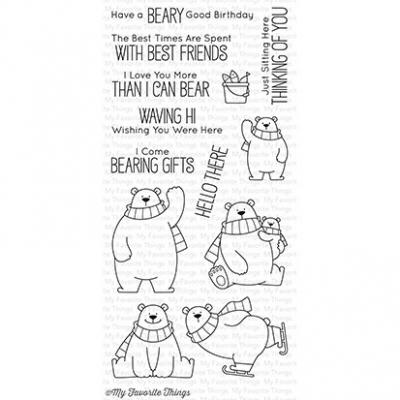 My Favorite Things Clear Stamp Polar Bear Pals
