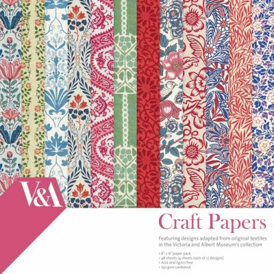 Frist Edition V&A 6x6 Inch Paper Pack Craft Papers