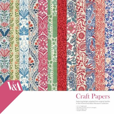 First Edition V&A 12x12 Inch paper Pack Craft Papers