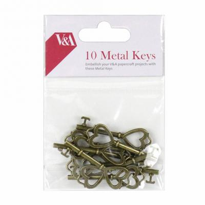 First Edition V&A Metal Keys