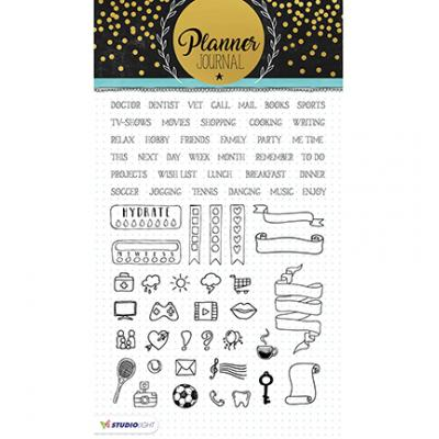 Studio Light Clear Stamps - Planner Journal Nr. 4