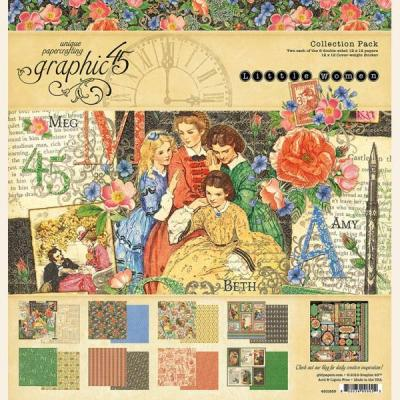 Graphic 45 Little Women 12x12 Inch Collection Pack