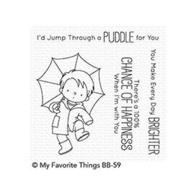 My Favorite Things Clear Stamp Puddle Jumper