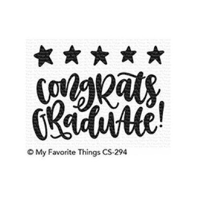 My Favorite Things Clear Stamp Star Graduate