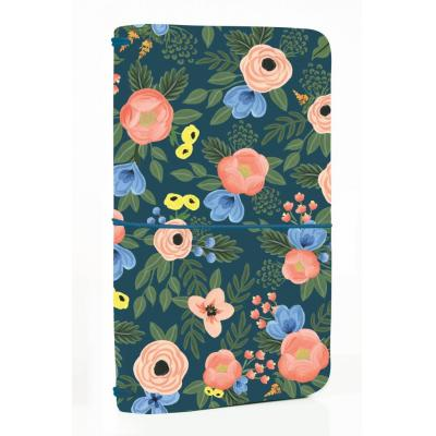 Echo Park Travelers Notebook - Navy Floral