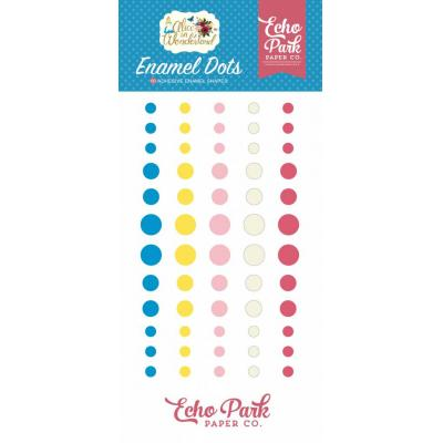 Echo Park Alice in Wonderland - Enamel Dots