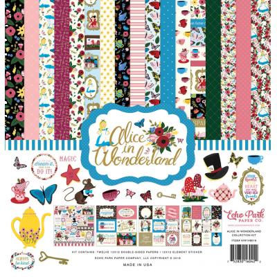 Echo Park - Alice in Wonderland - Collection Kit