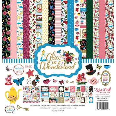 Echo Park Alice in Wonderland - Collection Kit