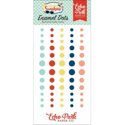 Echo Park Good Day Sunshine - Enamel Dots