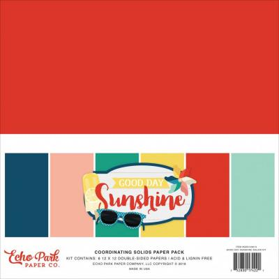 Echo Park Good Day Sunshine - Cardstock
