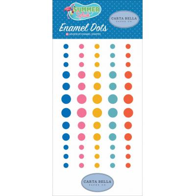 Carta Bella Summer Splash - Enamel Dots