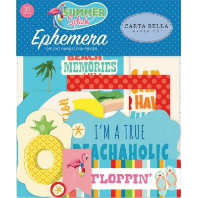 Carta Bella Summer Splash - Ephemera