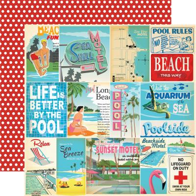 Carta Bella Summer Splash - Vacation Journaling Cards