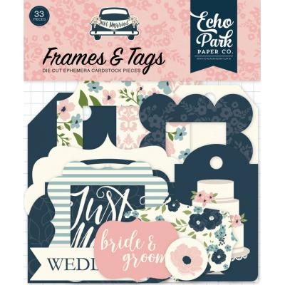 Echo Park Just Married - Frames & Tags
