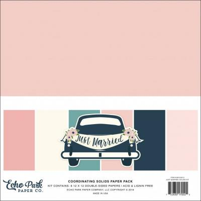 Echo Park Just Married - Solids Kit