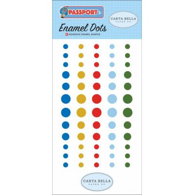 Carta Bella Passport - Enamel Dots