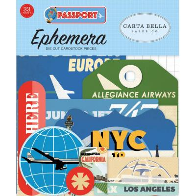 Carta Bella Passport - Ephemera