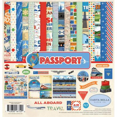 Carta Bella Passport - Collection Kit