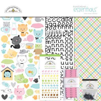 Doodlebugs Kitten Smitten - Essentials Kit
