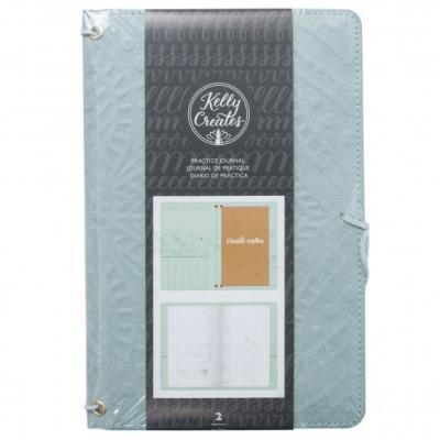 Kelly Creates Traveler Practice Journal - Teal