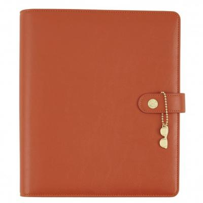 Carpe Diem split leather planner A5