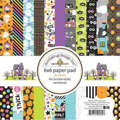 Doodlebugs BooVille - 6x6 Paper Pad