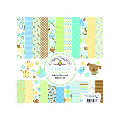 Doodlebugs Snips & Snails - 6x6 Paper Pad