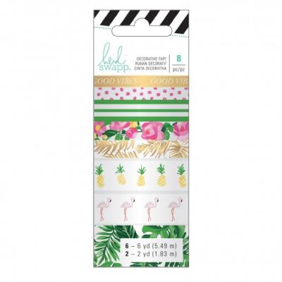 Heidi Swapp Memory Planner Washi - Tropical