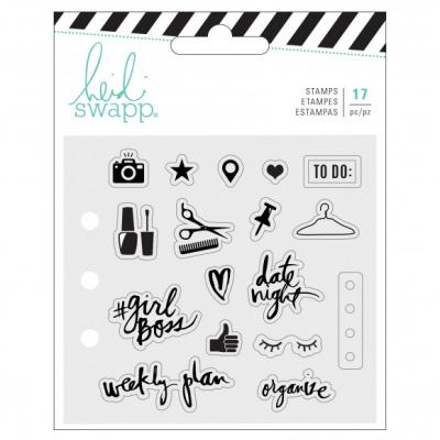 Heidi Swapp Clear Stamps Memory Planner -Everyday