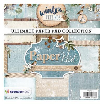 Studio Light Paper Pad - Winter Feelings nr.90