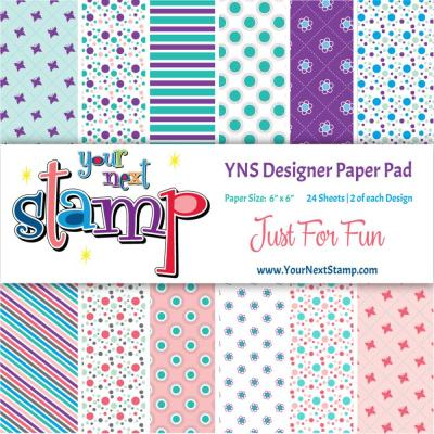 Your Next Stamp Paper Pad Just for Fun