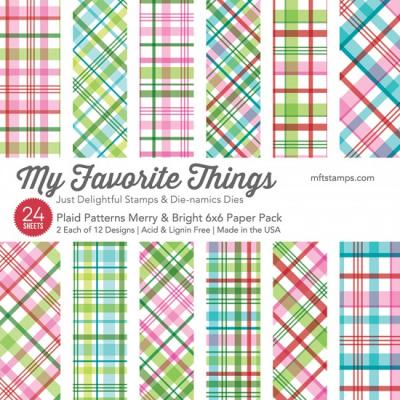 My Favorite Things Plaid Patterns Merry & Bright - Paper Pad