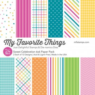 My Favorite Things Sweet Celebration - Paper Pad