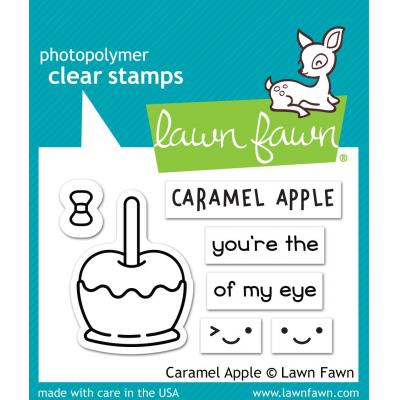 Lawn Fawn Caramel Apple