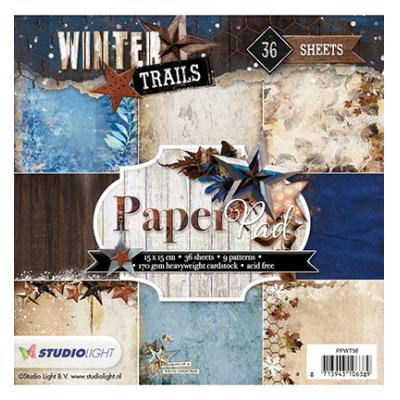 StudioLight PaperPad -  Winter Trails Nr. 98